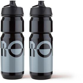RONDO Rondo Wasserflaschen Set 750ml 2 Stück grey/black